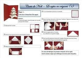 tuto sapin origami mini