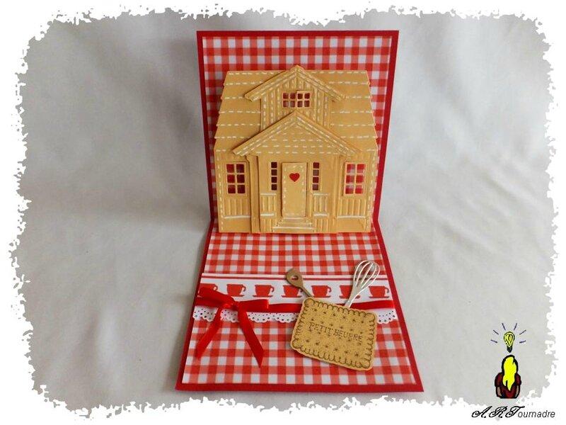 ART 2014 10 maison pop-up rouge 3