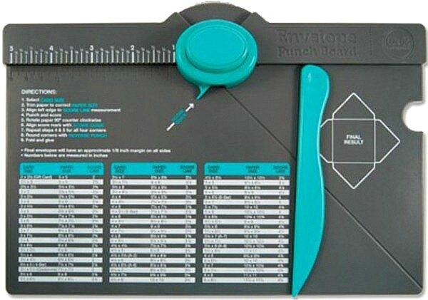 materiel envelope punch board