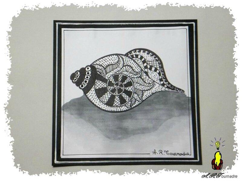 ART 2014 10 coquillage zetangle