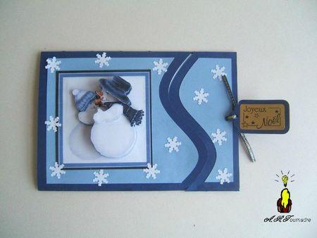 ART 2011 11 pochette bonhomme de neige 1