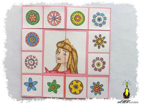 ART 2013 02 carte sans fin Princesses et Mandalas 1