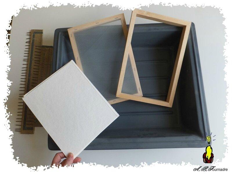 ART 2017 03 materiel fabrique papier