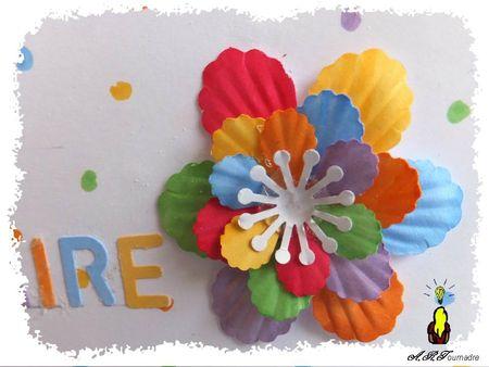 ART 2013 05 fleur pop-up multicolore 2