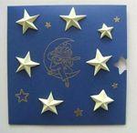ARTicle étoiles relief en origami mini