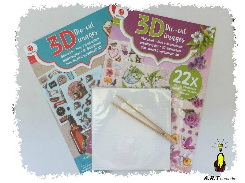planche et mousse 3D