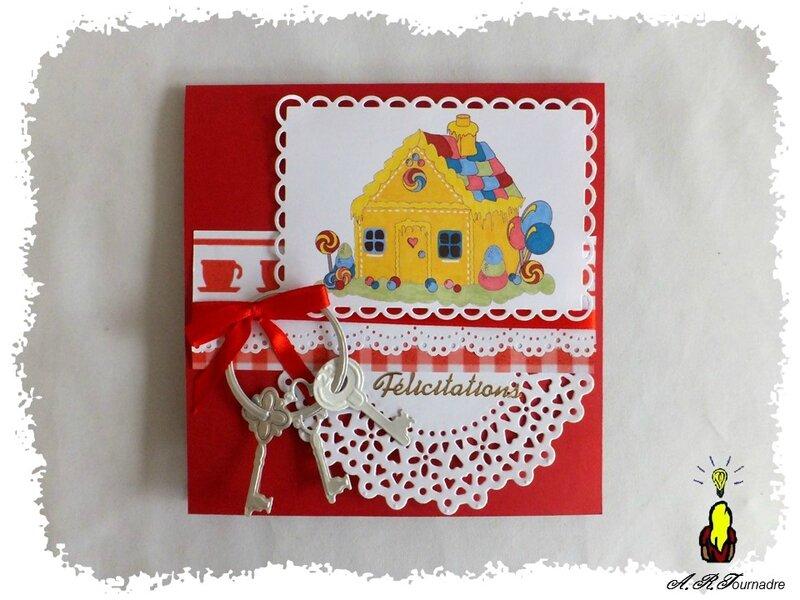 ART 2014 10 maison pop-up rouge 1
