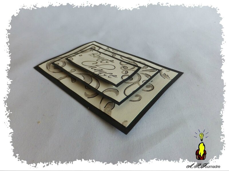 ART ATC tampon pyramide 3
