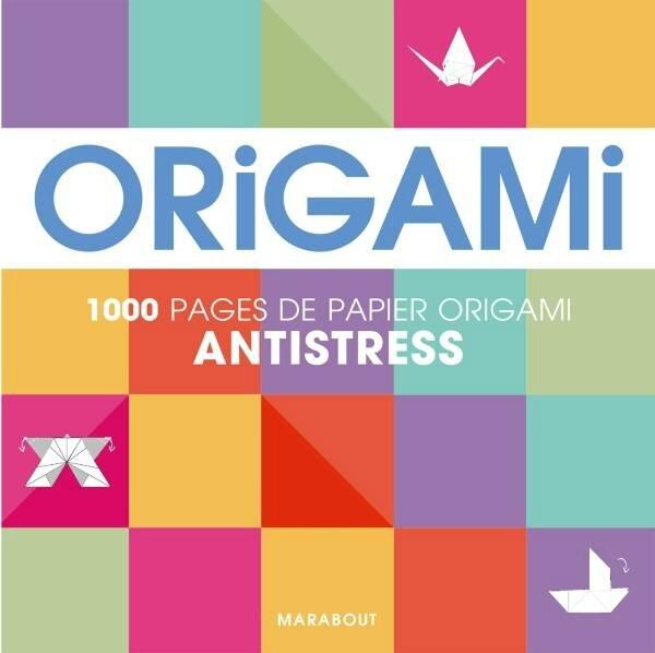 livre origami anti stress