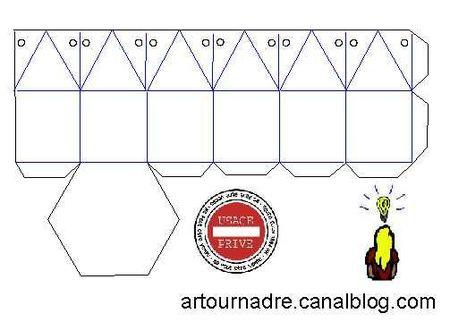 ARTicle boite hexagonale