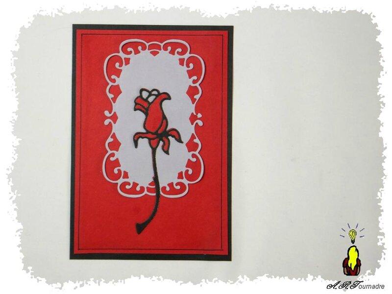 ART 2014 10 rose rouge et noir 1