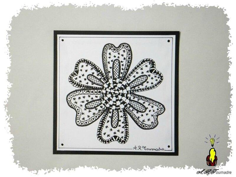 ART 2014 10 fleur zetangle