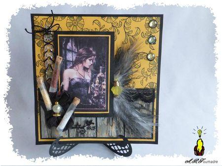 ART 2013 04 gothique jaune & fioles 1