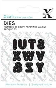 Alphabet mini X-cut