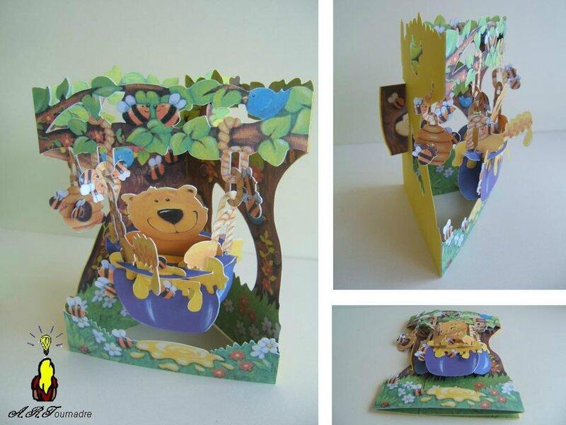 ART 2011 carte balancoire ours et miel