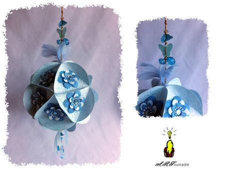 ART boule de Noel 12cm 1