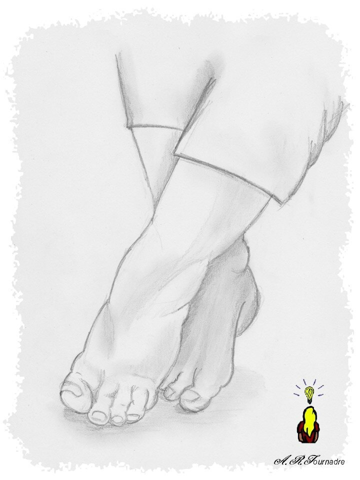 ART 2015 03 dessin pieds croises