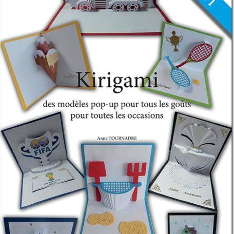 Livre Kirigami Volume 1 - couverture